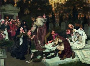 Wskrzeszenie Łazarza Eduard von Gebhardt 1896
